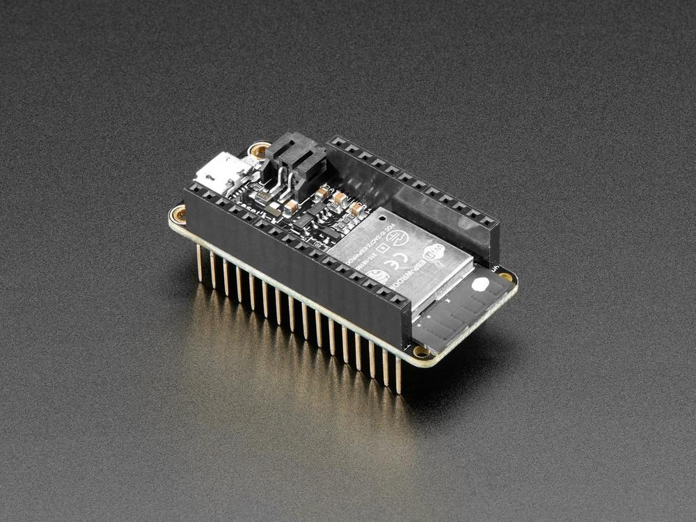 Assembled Adafruit HUZZAH32 – ESP32 Feather Board